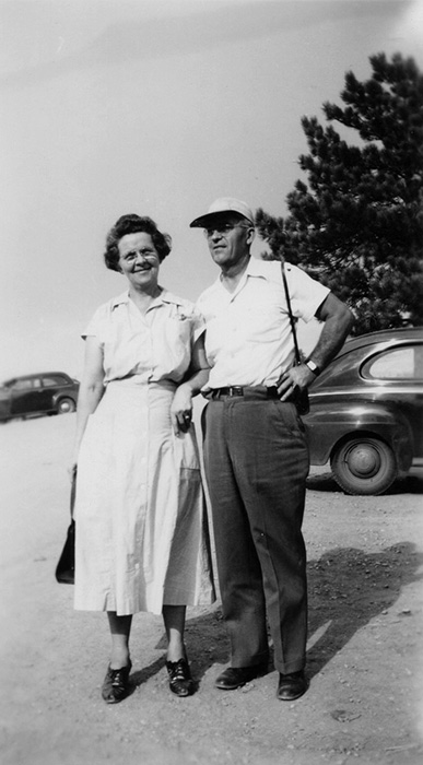 Beulah Williams Rogers and Clifford Rogers